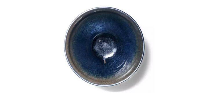 嘉德中国古代陶瓷专场:南宋建窑黑釉兔毫盏