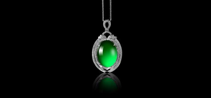 珠宝神话:钻石配翡翠