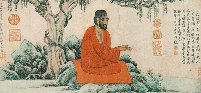 赵孟頫为什么要画红衣罗汉?