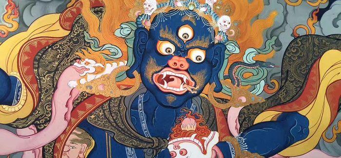 西藏精品唐卡登陆上海!