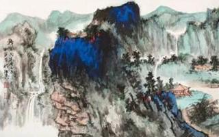 """不用""""故宫跑"""" 这些青绿山水也值得一看"""