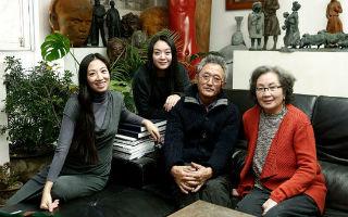 独家专访:雕塑家田世信的一家子
