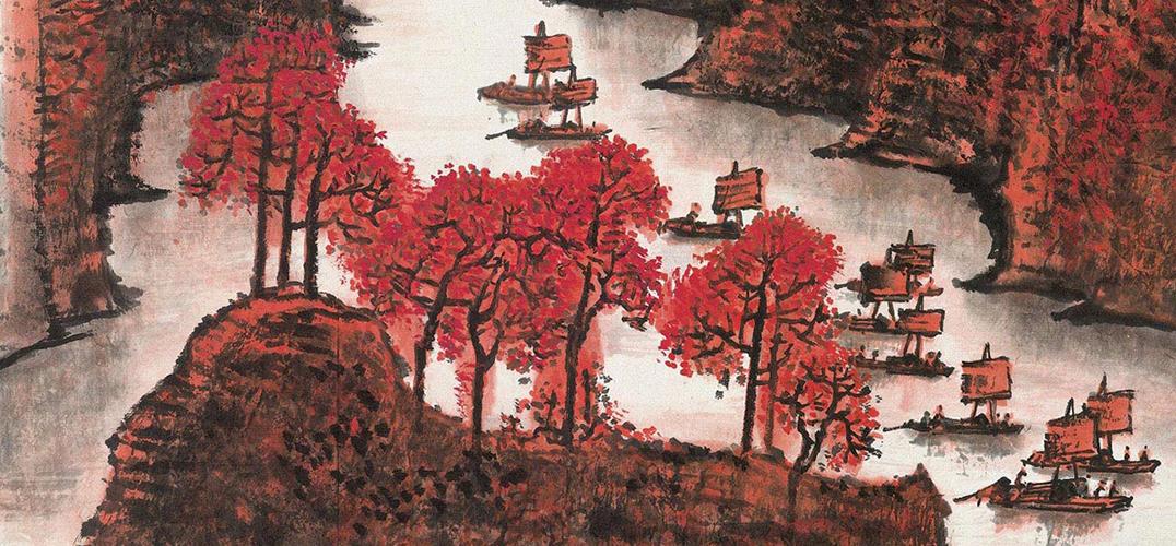 中国嘉德:《丹霞秋色》与《清漓渔歌》续写新篇章
