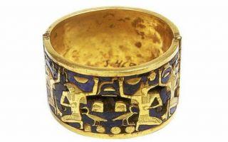 如艳后般妖娆的埃及珠宝