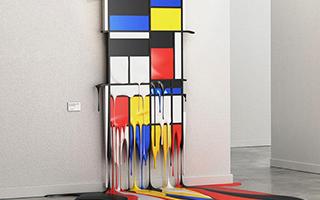 融化的画廊
