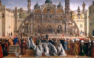 他们用自己开创的绘画新方法共同缔造了威尼斯的繁荣