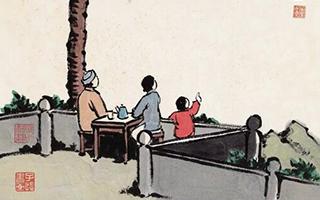 不论用什么方式过中秋 家人的陪伴就是最好的时光