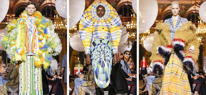 巴黎时装周:看看就好了