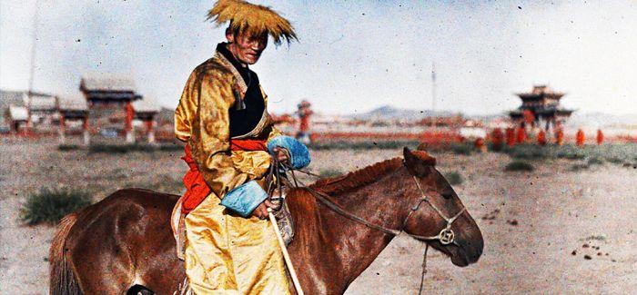 108年前 这个法国人拍下了中国最早彩照