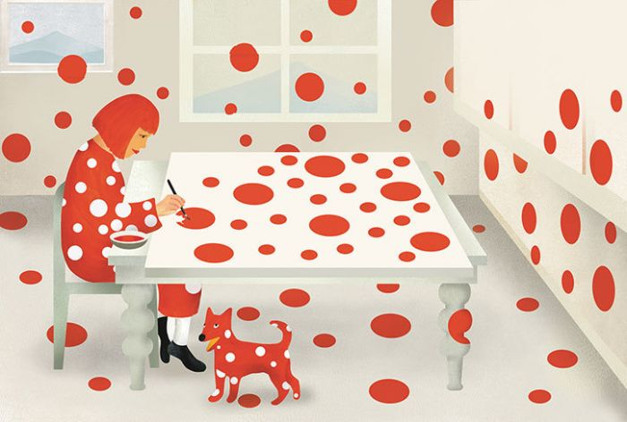 adaymag-yayoi-kusama-life-story-vibrant-picture-book-05