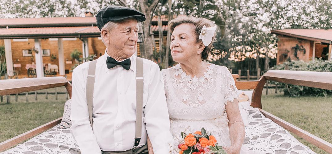 60年后的婚纱照