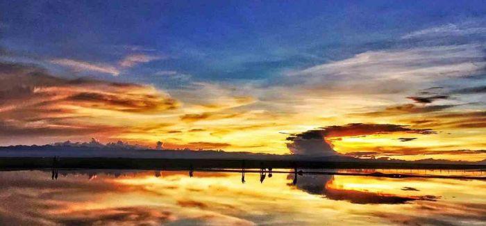 普氏原羚的青海湖