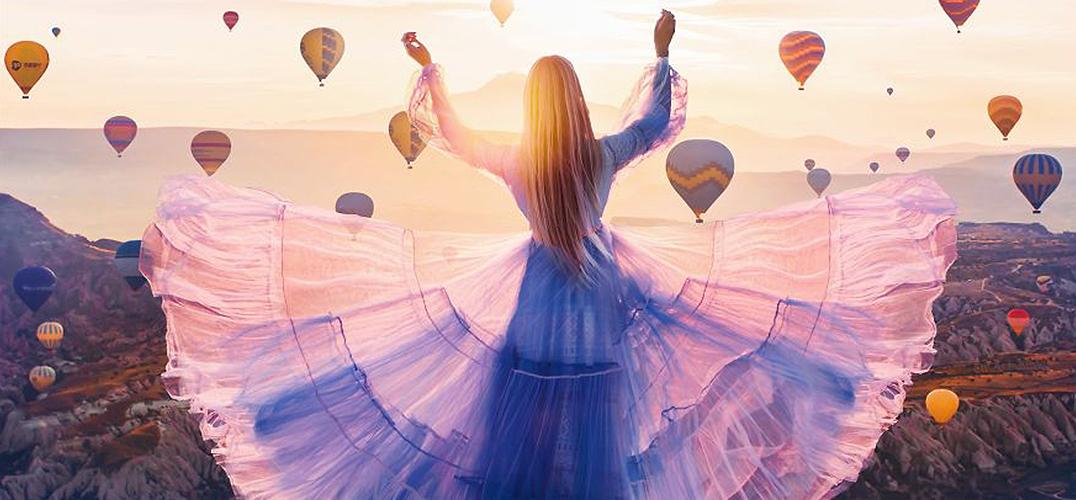穿着最美的裙子去环游世界