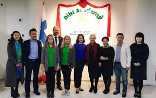 芬兰教育部长访华 国内首家芬兰早教学院落地