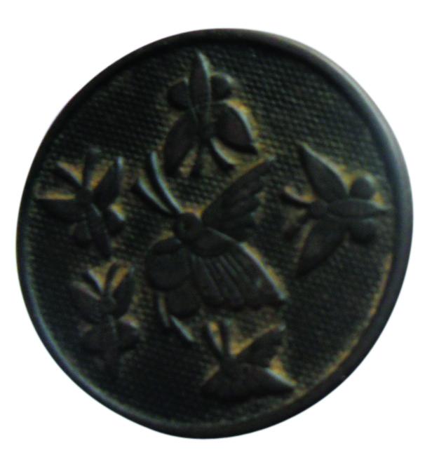 广丰的洋行公司铸造的铜纽扣2