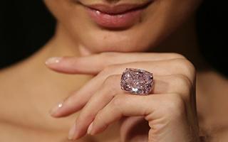 世界最大浓彩粉红色钻石拍卖 估价超2千万美元