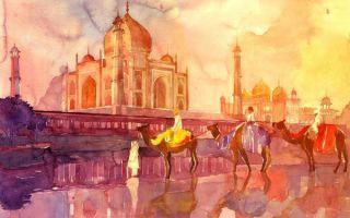 古典而唯美:波兰画家的水彩世界