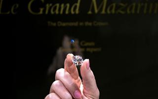 镶在多位法兰西国王王冠上的巨大粉钻将在日内瓦拍卖
