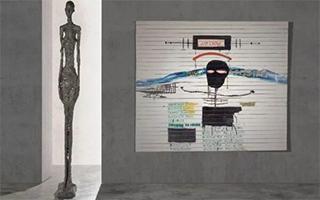 贾科梅蒂雕塑与巴斯奎特画作领衔巴黎20世纪艺术周