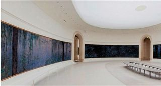 巴黎橘园美术馆:宁静的灵动