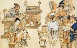 宋代泼墨山水之中的茶文化