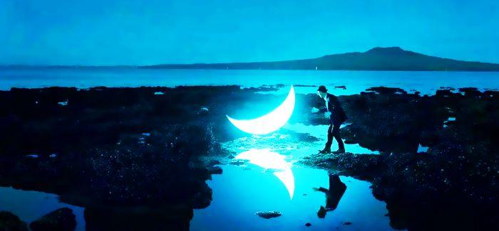 月亮掉下来