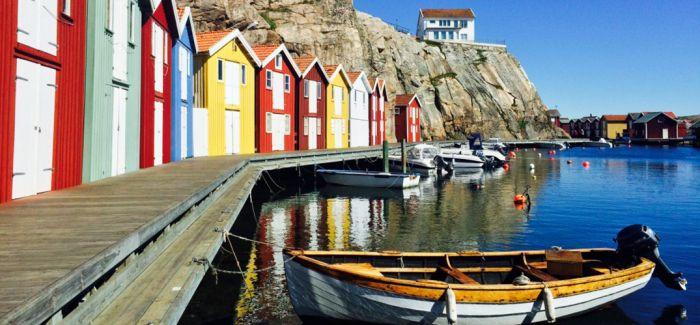 哥德堡:海边的独特风景