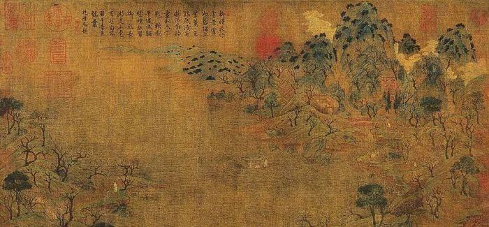 赵伯驹《江山秋色图》接棒《千里江山图》