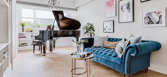 浪漫法国风情 搬进小小公寓