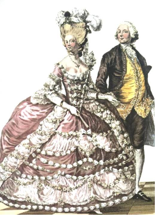 18世纪欧洲宫廷_奢华的流行:17-20世纪欧洲时装版画_书画_投资收藏_凤凰艺术