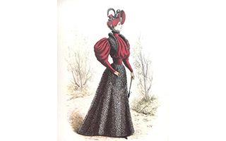 奢华的流行:17-20世纪欧洲时装版画