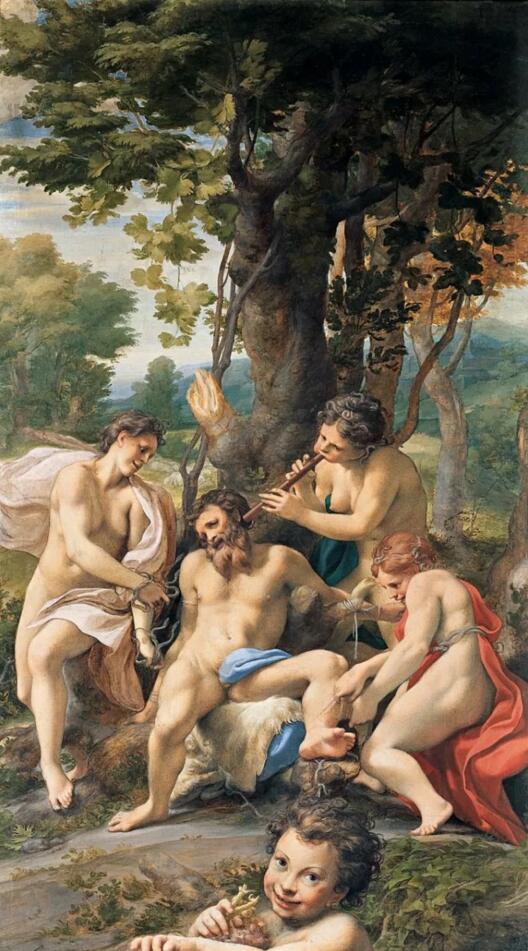 柯列乔:意大利文艺复兴时期的创新派画家_艺术家_艺术
