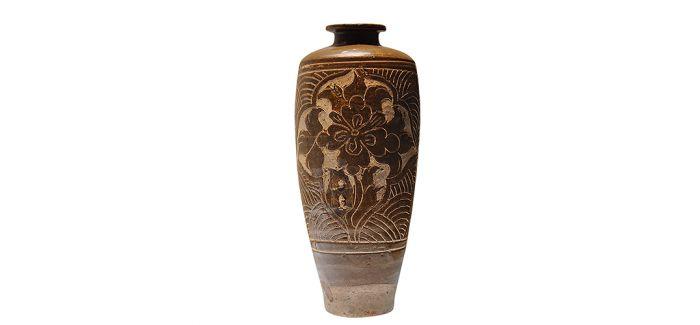 西夏剔刻花瓷:源于黄河的独特纹饰