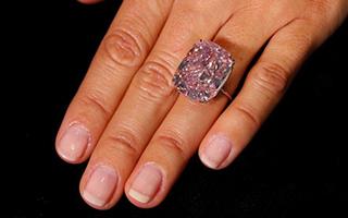 世界已知最大的37.30克拉粉钻将拍卖