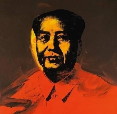 安迪霍沃尔《毛泽东》