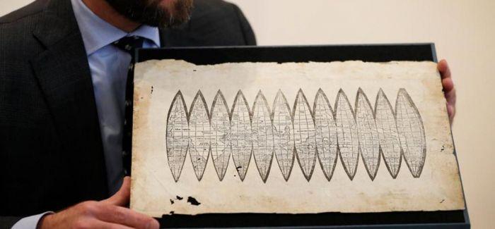 一幅510年历史世界地图 估价60至90万英镑