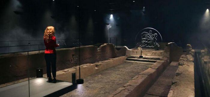 古罗马密特拉神庙被移回其原址