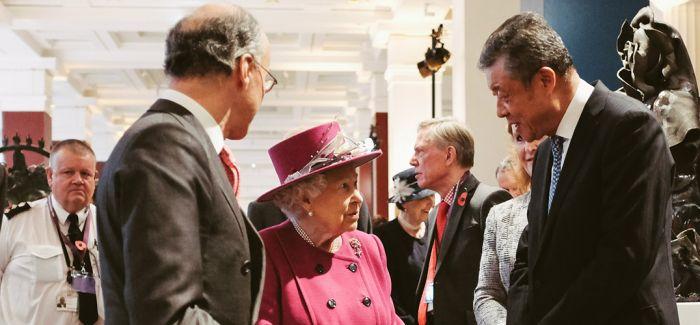 """大英博物馆""""中国和南亚馆""""举行重新开馆仪式"""