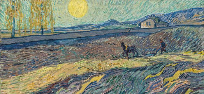 《田野里犁地的农夫》成功跻身梵高作品拍卖第二高价