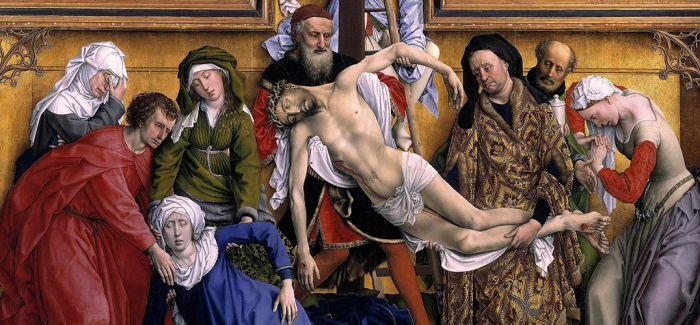 雷吉尔·范德韦登的《基督下十字架》
