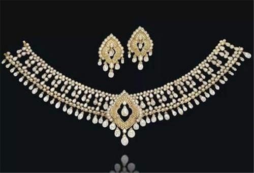 萨丽麦·阿迦汗公主(The Princess Salimah Aga Khan)的项链
