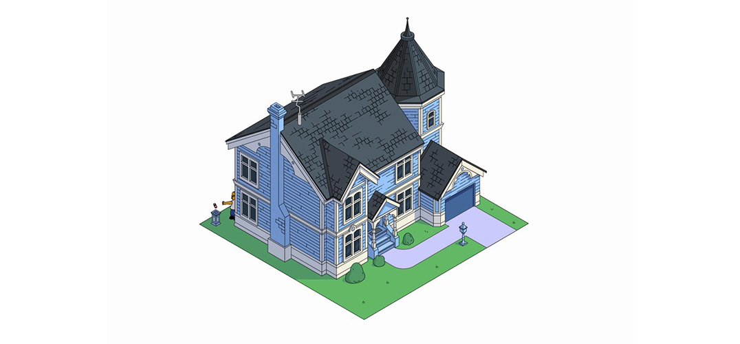 美国最著名家庭的房子