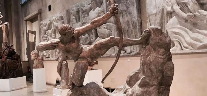 """""""布德尔与他的雕塑艺术""""在清华大学艺术博物馆开幕"""