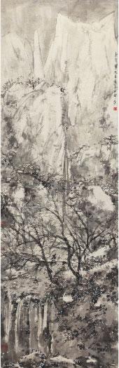 傅抱石《雪夜访友图》 估价2000-2200万 北京匡时12月秋拍。
