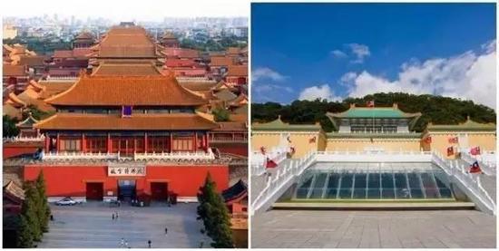 中国有两个故宫博物院,