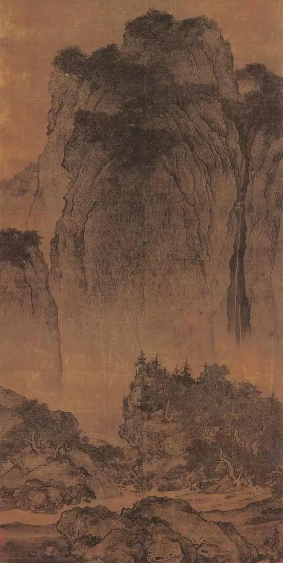 《溪山行旅图》