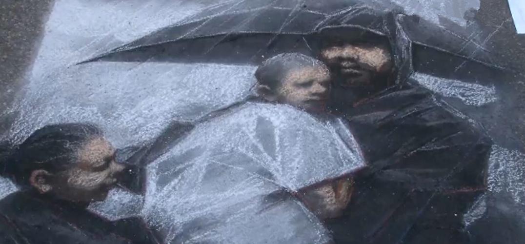 休斯敦街画节 200名画家为听障儿童筹款