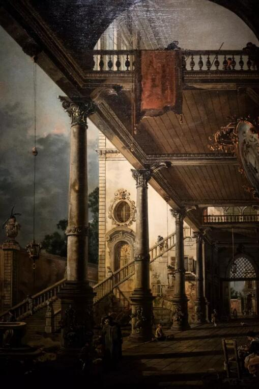 卡纳莱托《随想:威尼斯大拱廊》