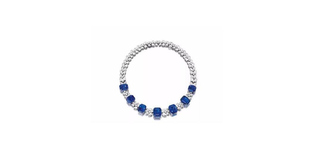 5.69卡拉艳彩蓝色钻石戒指上拍纽约苏富比
