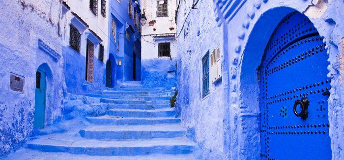 舍夫沙万 一座蓝色的城
